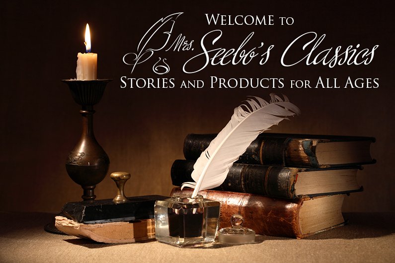 Mrs. Seebos Classics is pleased to present award-winning children's publications, audio books, e-books written, produced and directed by Donna Seebo.
